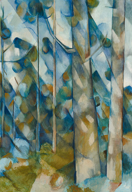 Kauri tree landscape by Colin McCahon