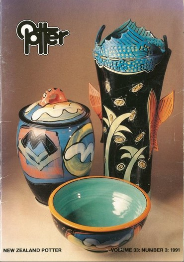 New Zealand Potter volume 33 number 3, 1991
