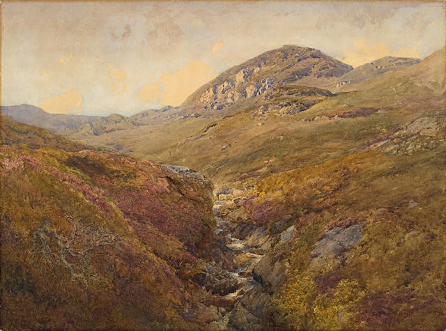 On The Moors, Kyle Of Bute