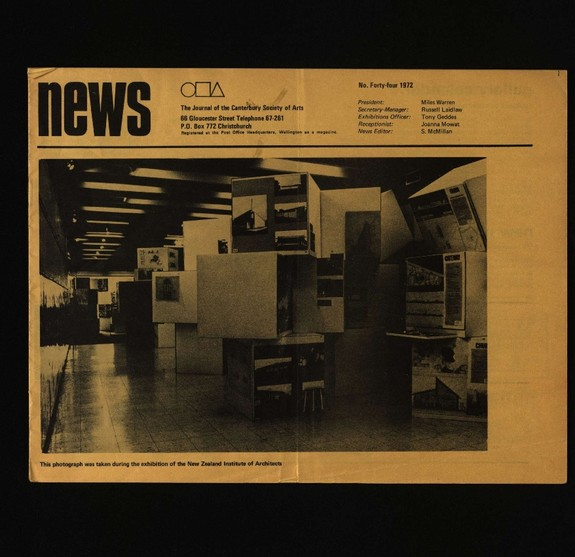 Canterbury Society of Arts News, number 44, July 1972