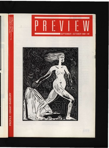 Canterbury Society of Arts Preview, number 148, September/October 1989