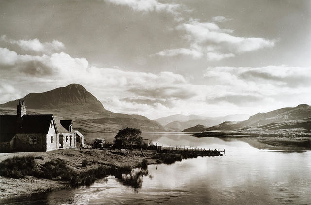 Loch Hope with Ben Hope, Sutherland