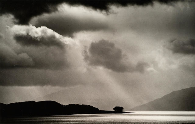 Rain over Loch Linnhe, Invernessshire