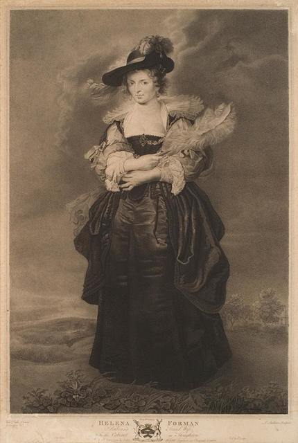 Helena Forman, Ruben's Second Wife (In The Cabinet At Houghton)