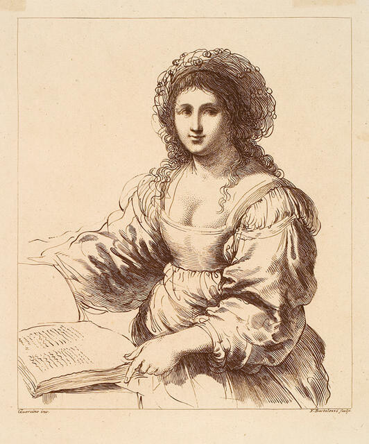 Portrait Of A Woman (With A Book)