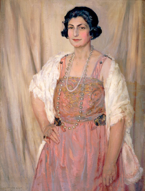 Portrait of Sybil Boulton