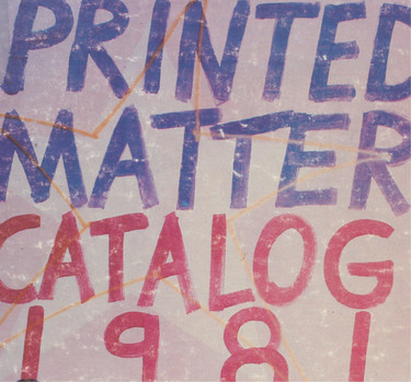 Detail of Printed Matter Inc.: Books by Artists, New York: Printed Matter, 1981