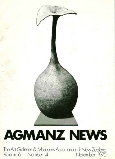 AGMANZ Volume 6 Number 4 November 1975