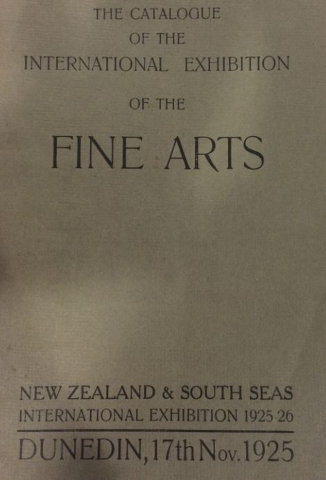 Catalogue of the International Exhibition of the Fine Arts