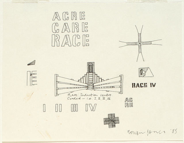 Drawing II: Acre, Care, Race