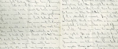 A letter from Margaret Stoddart to Rosa Spencer Bower