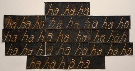 Giovanni Intra, The Laughing Wall, copper