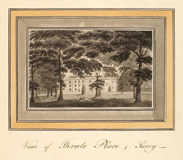 View Of Thrale Place; Surry -