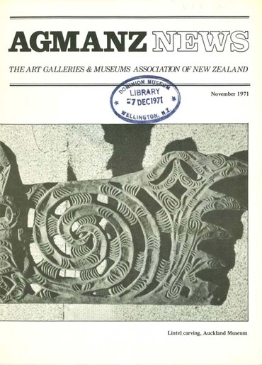 AGMANZ News Volume 2 Number 11 November 1971