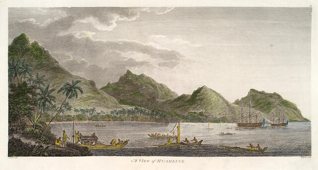 A View Of Huaheine (Society Islands)