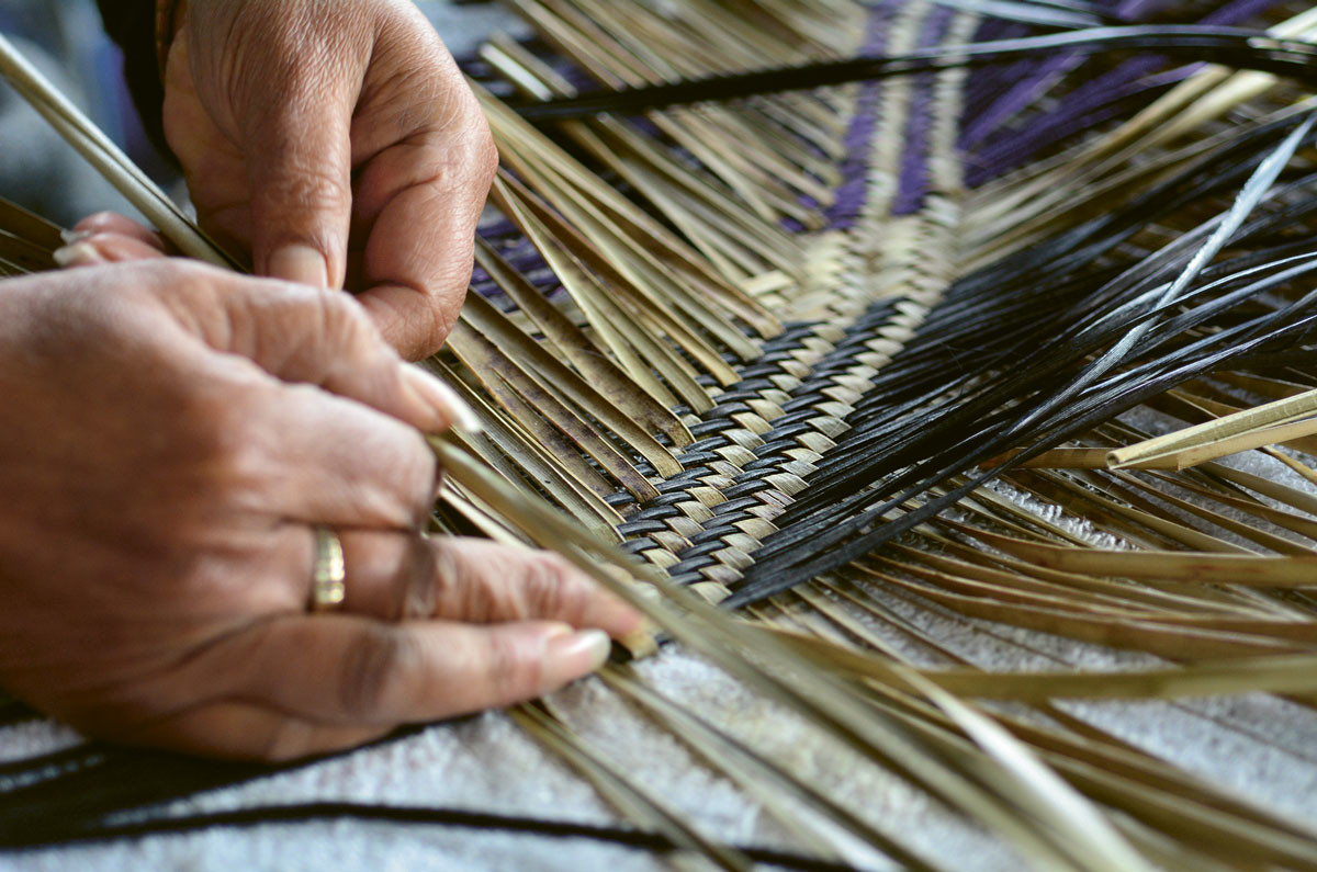 Harakeke Weaving with Paula Rigby