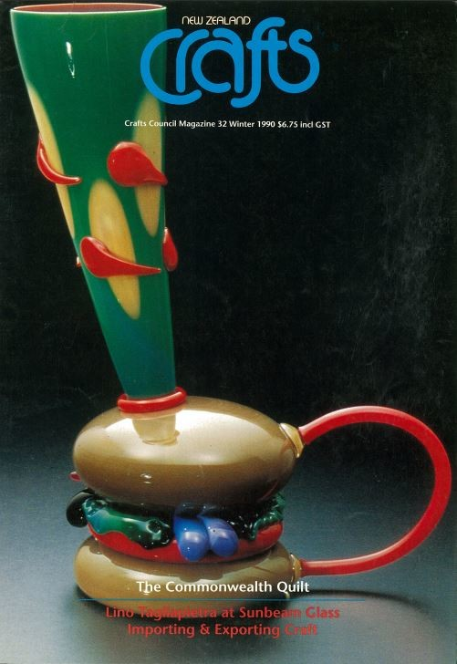 New Zealand Crafts issue 32, Winter 1990