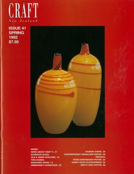 Craft New Zealand issue 41, Spring 1992