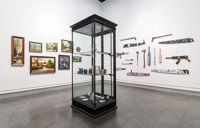 Us V Them: Tony de Lautor, installation view, June 2018. Photo: John Collie