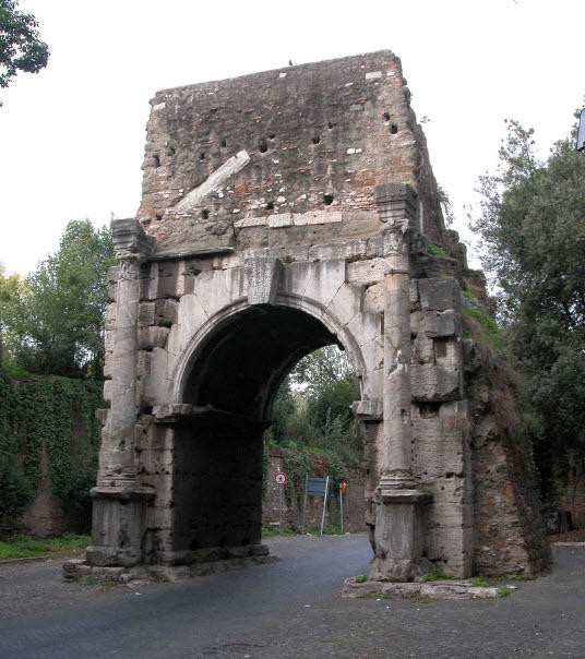 The Arch of Drusus as it currently appears