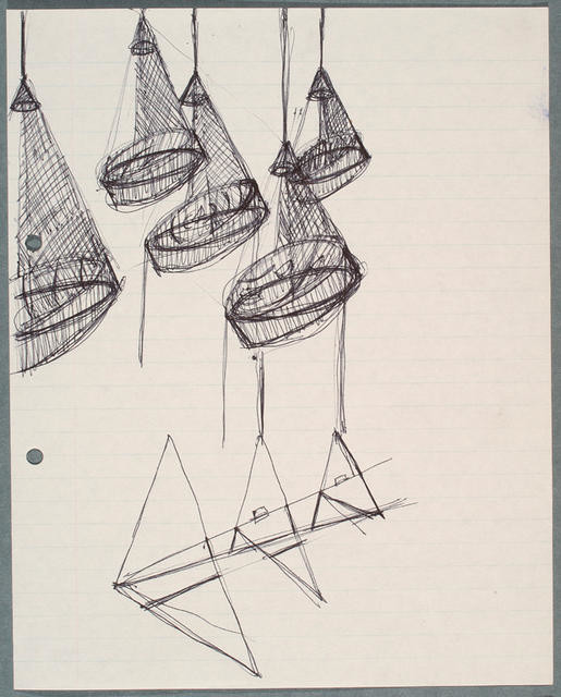 Seascape - documentation: preparatory drawings