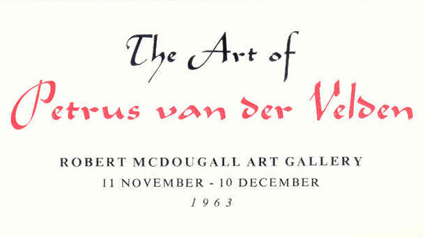 The art of Petrus van der Velden