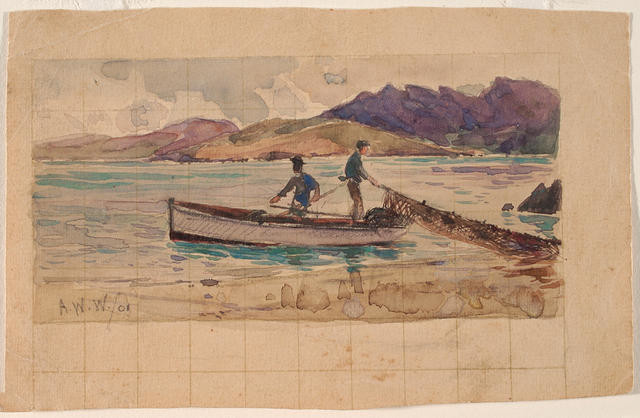 Untitled (Two Men Fishing)