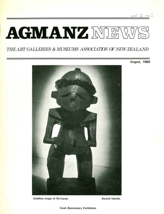 AGMANZ News Volume 2 Number 2 August 1969
