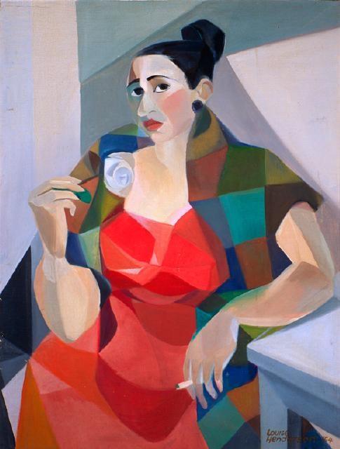Portrait of Betty Curnow