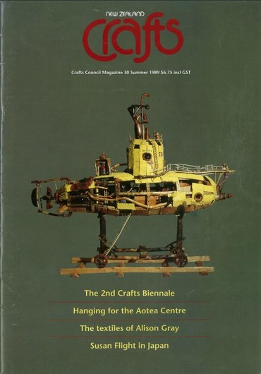 New Zealand Crafts issue 30, Summer 1989