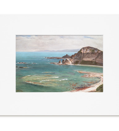 South Point, Kaikoura: John Gibb - Print