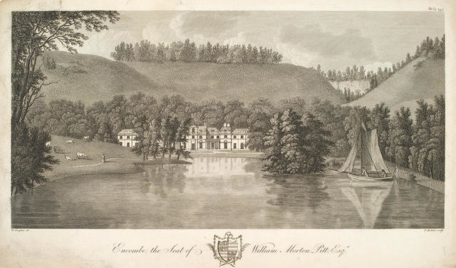 Encombe, the Seat of William Morton Pitt Esq.