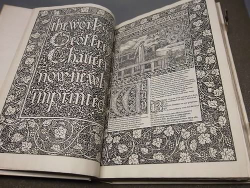 The London Library's copy of the Kelmscott Chaucer