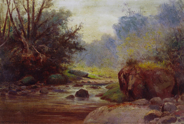 Untitled (River Scene)