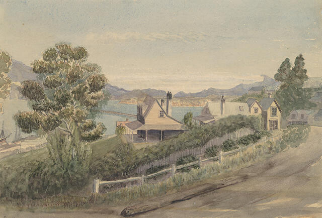 View of Lyttelton