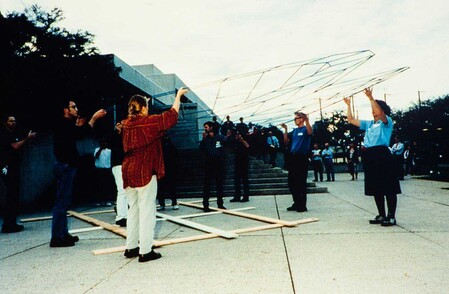 The Asia Pacific Triennial (installation view), Queensland Art Gallery Gallery of Modern Art, 1993