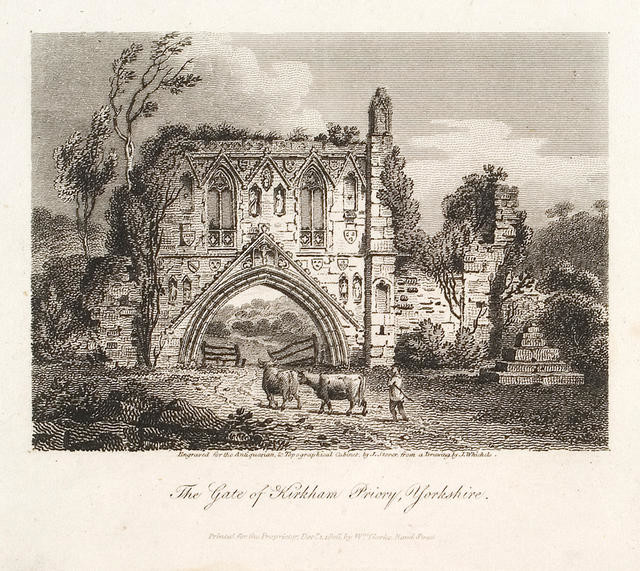 The Gate Of Kirkham Priory, Yorkshire