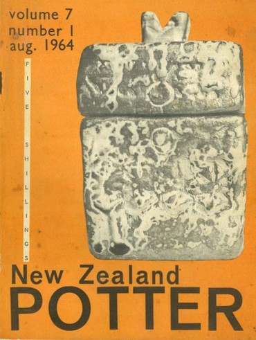 New Zealand Potter volume 7 number 1, August 1964