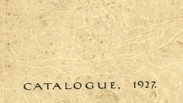 CSA catalogue 1927