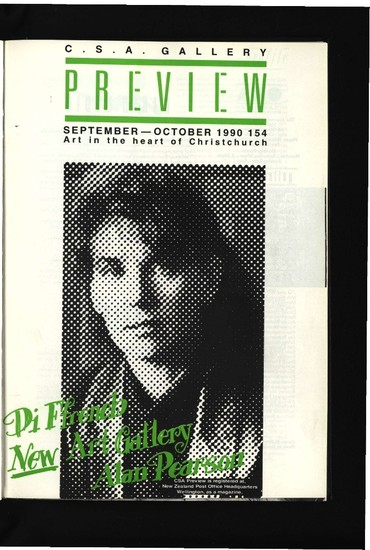 Canterbury Society of Arts Preview, number 154, September/October 1990