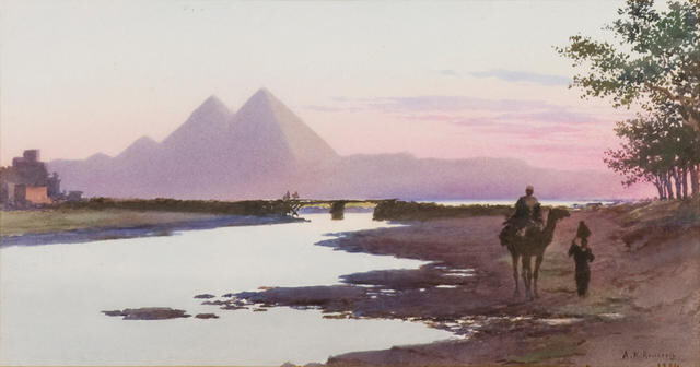 Egypt At Dawn