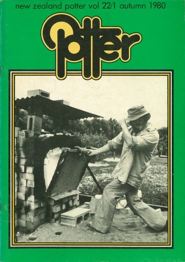 New Zealand Potter volume 22 number 1, Autumn 1980