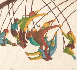 Swings by Ethel Spowers