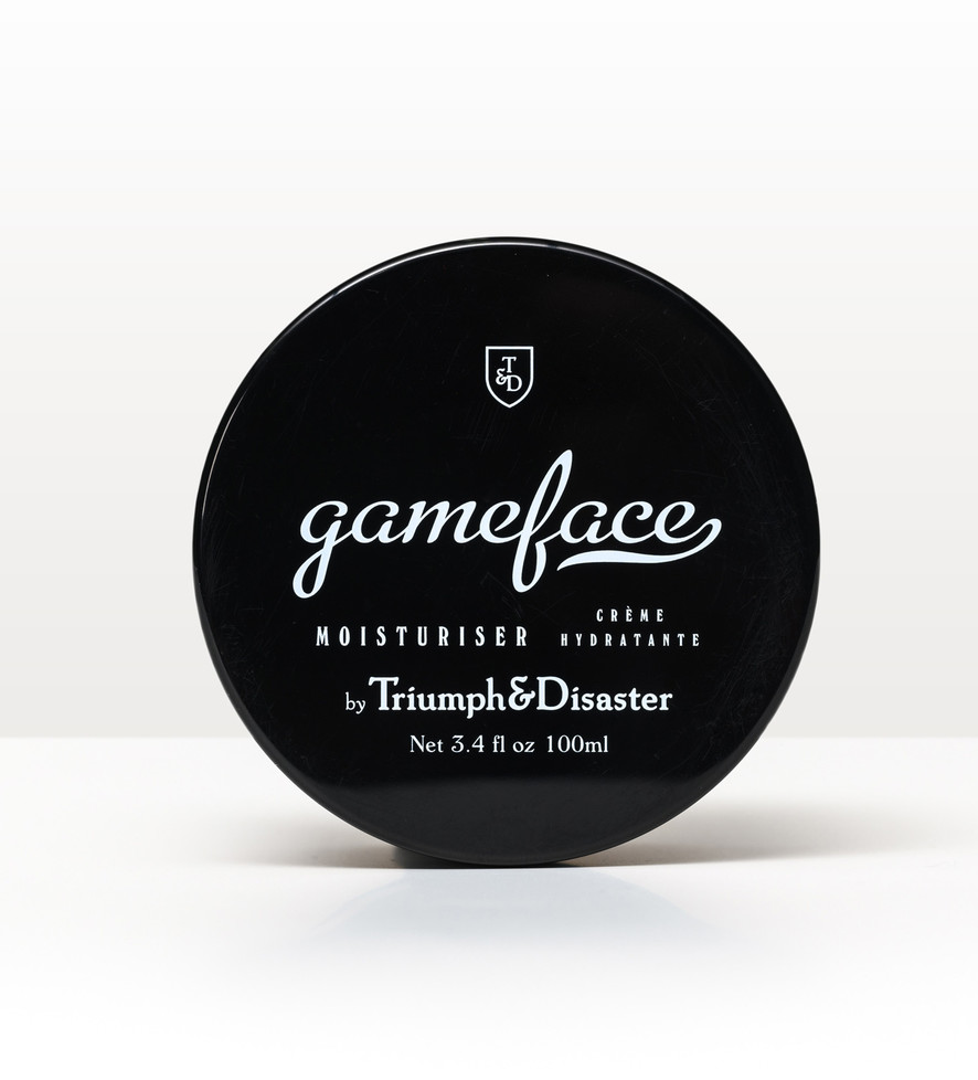 Gameface Moisturiser 100ml Jar
