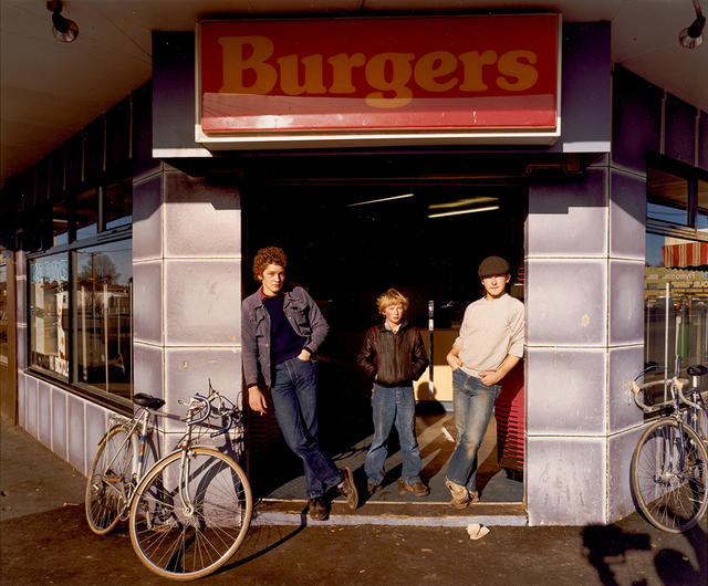 Burger Bar With Three Youths, Christchurch