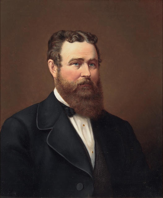 Portrait of Andrew Duncan, 3rd Mayor of Christchurch