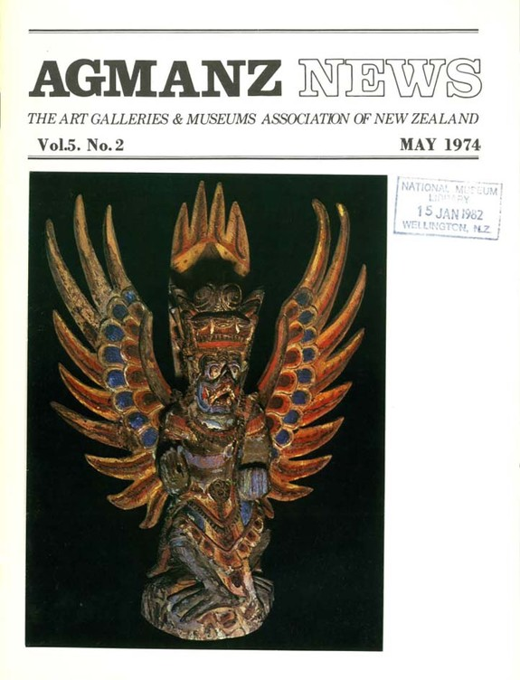 AGMANZ Volume 5 Number 2 May 1974