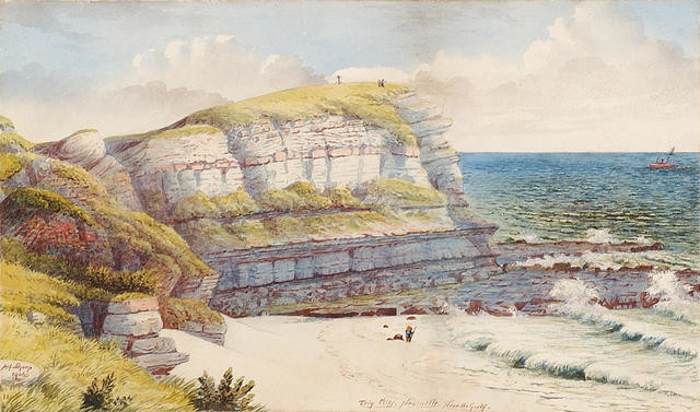 Trig Cliff, Newcastle, Near the Gulf