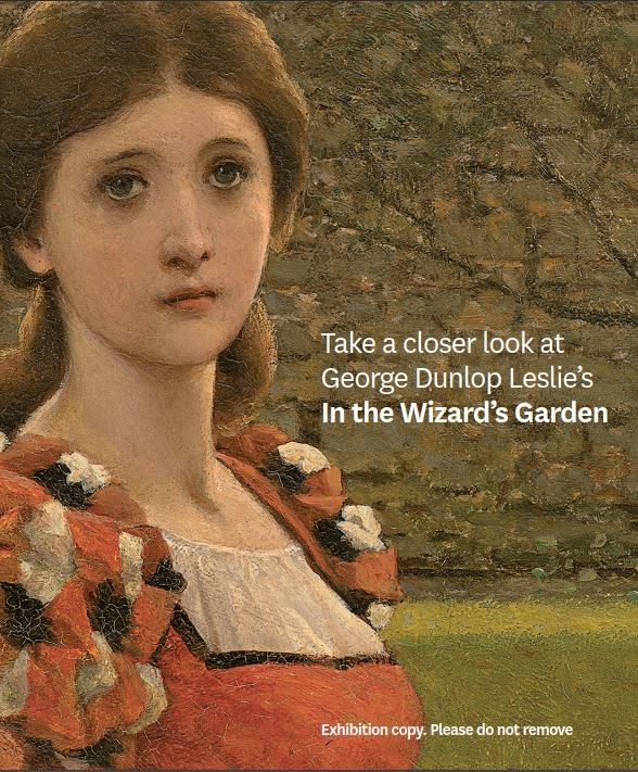 George Dunlop Leslie room card