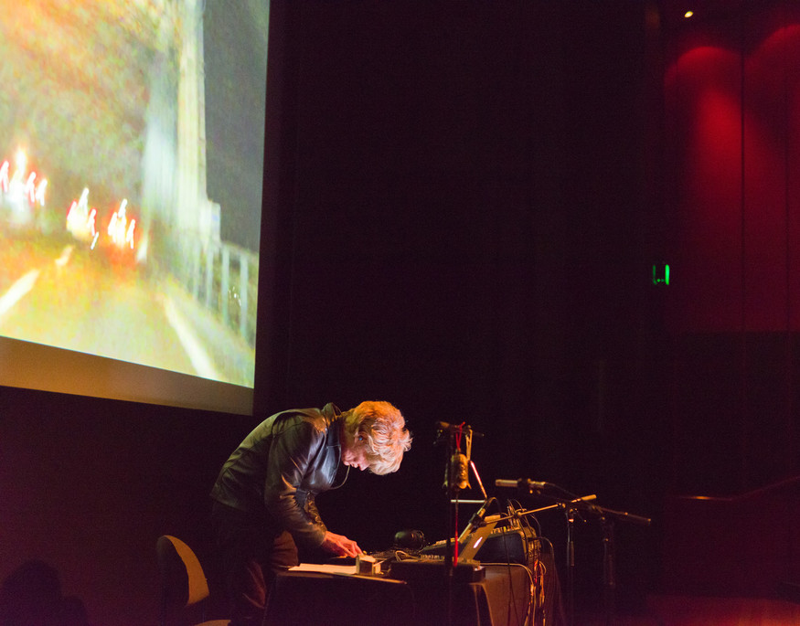 J.G. Thirlwell performs at the Gallery on the opening night of his first ever New Zealand tour.